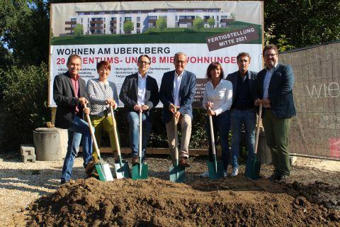 """Foto: Spatenstich Wohnanlage """"Ueberlberg"""""""